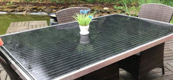 Solarmodule kreativ in den Alltag einbauen