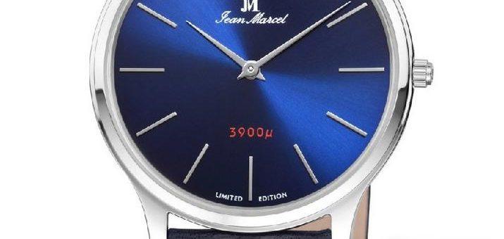 Flach, flacher, ultraflach – die NANO 3900 µ von Jean Marcel ist eine der flachsten Uhren der Welt