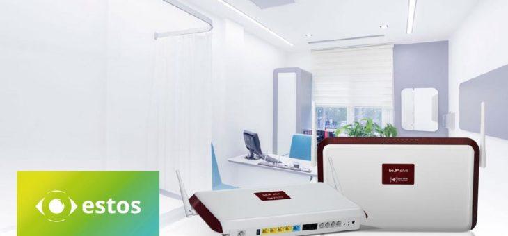All-IP Umstellung in Arztpraxen: Reibungslos migrieren mit der Faxsoftware von estos und der Telefonanlage von bintec elmeg