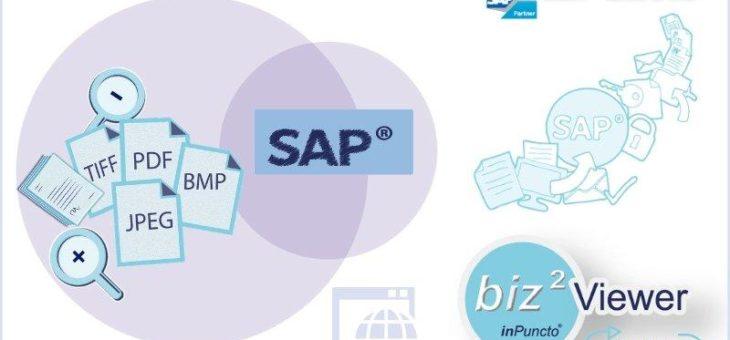 inPuncto Dokument-Viewer für SAP erhielt ein Update