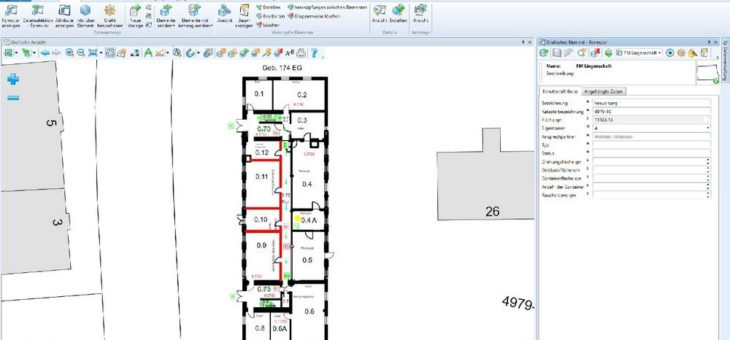 Gebäudemanagement digital und immer up to date mit LIDS Fachschale Gebäude