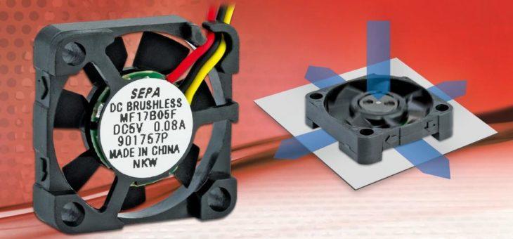 Innovativer RaAxial Lüfter ergänzt die Reihe der SEPA Microlüfter