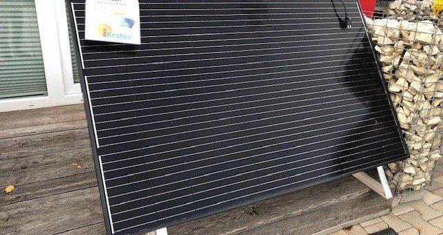 Balkon – Solaranlage mieten