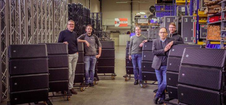 Neue RCF-Power im Südwesten Deutschlands bei Triacs Veranstaltungstechnik und Eventech-Pro Veranstaltungstechnik