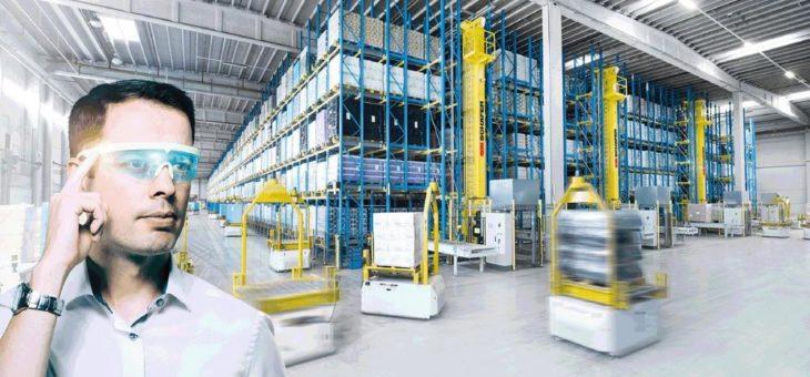 Lösungen für intelligente Materialflüsse in der Produktionslogistik