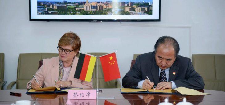"""Hochschule Bremen unterstützt durch Kooperation mit """"Sino-German College für Intelligente Produktion"""" in Shanghai Fachkräftesicherung auf internationaler Ebene"""