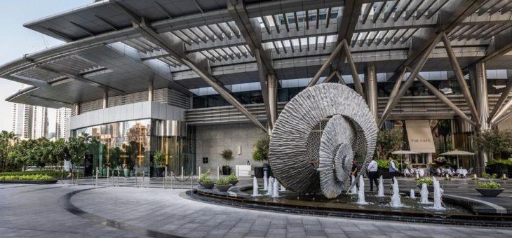Karusselltüren im Address Downtown Hotel Dubai