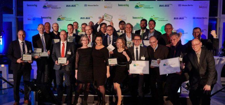 Internationaler busplaner Nachhaltigkeitspreis 2019
