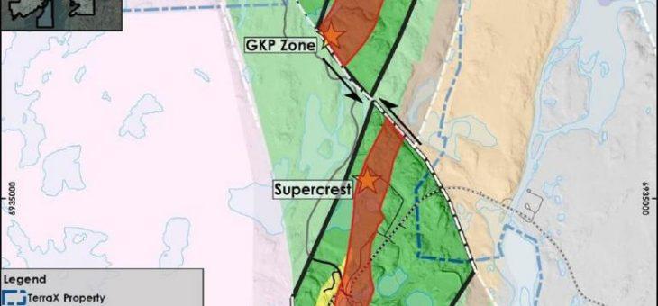 TerraX bestätigt Goldstrukturen, die eine der höchstgradigsten historischen Minen Kanadas -The Giant Mine- beherbergten sich auch auf die TerraX-Zielzone erstrecken