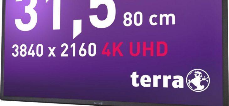 WORTMANN AG bringt 32 Zoll 4K UHD Display auf den Markt