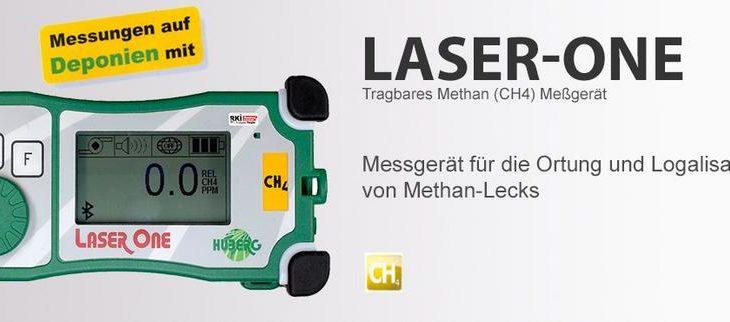 Methan (CH4) Messung auf Deponien