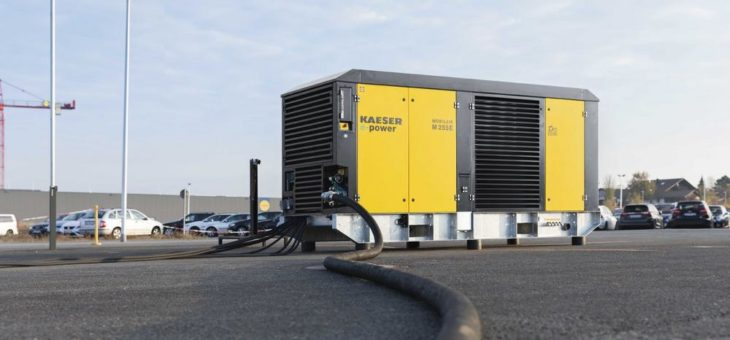 Mobile e-power bis 160 kW