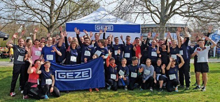 Der Lauf fürs Leben – Sponsoring mit dem GEZE Team beim Ditzinger Lebenslauf 2019