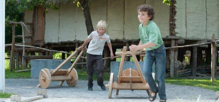 Pfahlbauten der Steinzeit an Ostern erleben