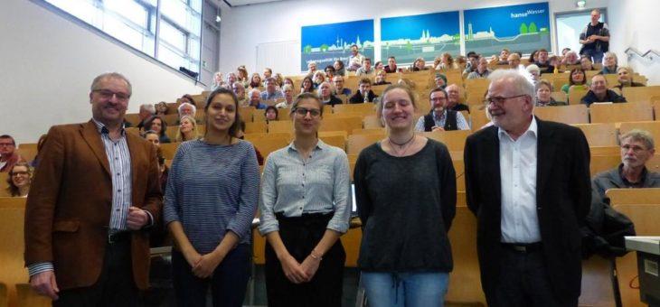 """""""Biologische Vielfalt in der Stadt"""": Fachtagung des Forschungsclusters """"Region im Wandel"""" der Hochschule Bremen"""