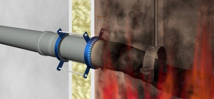 DOYMA: Wie funktioniert eigentlich eine Brandschutzmanschette?