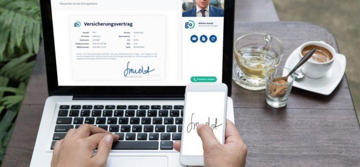 Höchste Effizienz bei Online Meetings: Idiligo setzt mit digitaler Unterschrift per inSign auf maximale Sicherheit und Verbindlichkeit für Vertragsabschlüsse im Internet