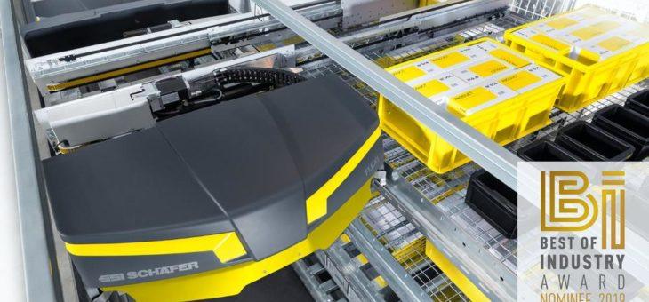 SSI Flexi Shuttle – Nominierung zum besten Industrieprodukt