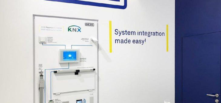 Nachhaltige Klima- und Gebäudetechnik: Smarte Systemintegration von GEZE auf der ISH Messe in Frankfurt