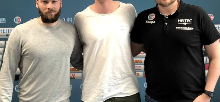 Handball: HC Erlangen präsentiert Sebastian Firnhaber vom THW Kiel