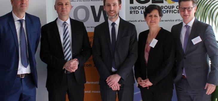 EU-Förderung für Projekte der angewandten Forschung: Netzwerk-Treffen in Brüssel