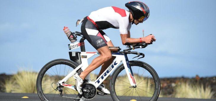 Ironman-Teilnehmer Daniel Braun bei der BKK ProVita