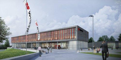 Bau des Innovationszentrums in Künzelsau gestartet