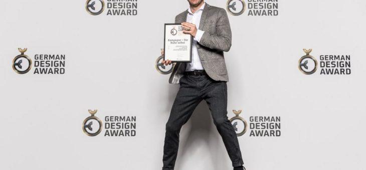 German Design Award für sumner groh + compagnie
