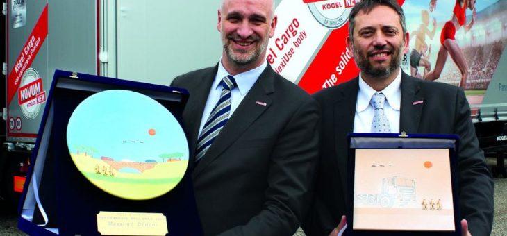 Kögel Geschäftsführer Massimo Dodoni zur Person des Jahres 2019 gekürt