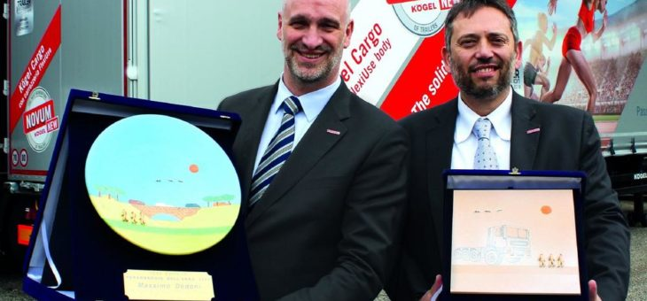 Kögel Managing Director Massimo Dodoni named Person of the Year 2019