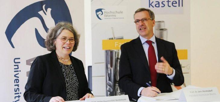 Kooperationsvertrag mit dem Gymnasium am Römerkastell Alzey geschlossen