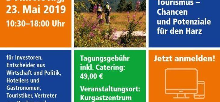 5. InvestorenForum Tourismus Harz: Chancen und Herausforderungen der Nachhaltigkeit für den Harz
