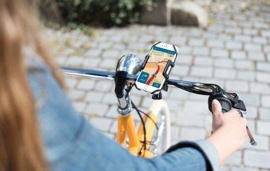 Smartphone-Fahrradhalter von Hama