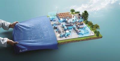 Hannover Messe 2019: Delta stellt industrielle Automatisierungslösungen für die digitalisierte, visualisierte und integrierte intelligente Fertigung vor