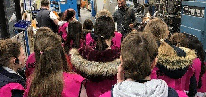 LAPP begeistert Mädchen für MINT-Berufe