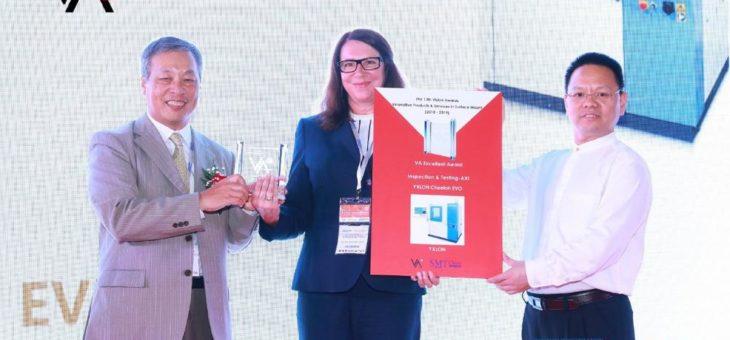 YXLON International erhält den SMT China Vision Award 2019 für ihre Cheetah EVO Produktfamilie