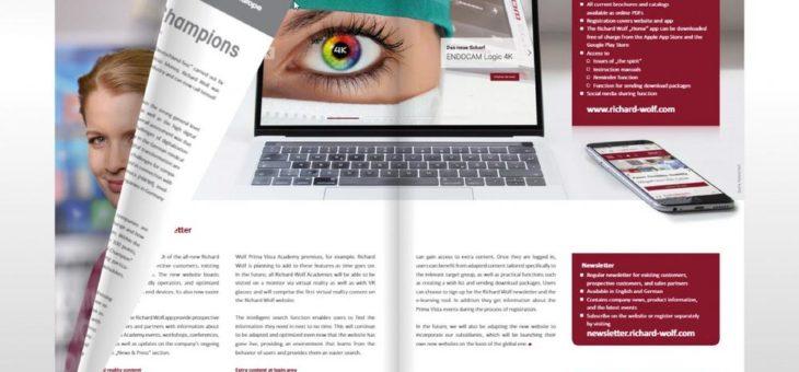"Richard Wolf launcht erstes digitales Kundenmagazin ""the spirit"""