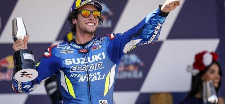 Rins wird mit einem 2. Platz im Rennen auch Meisterschafts-Zweiter