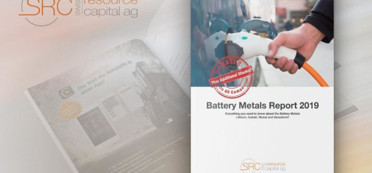 Battery Metals Report 2019 – Update: New and relevant information for download