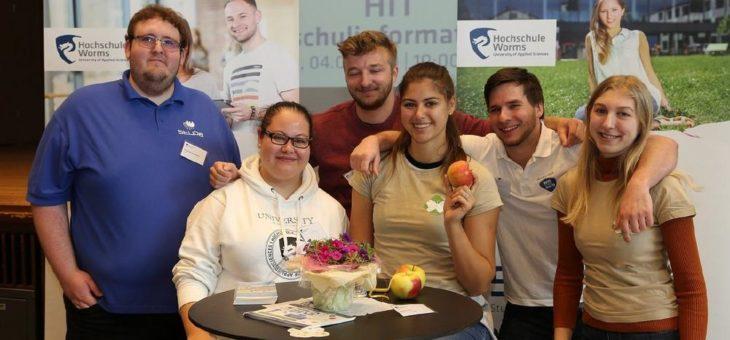 Volles Haus am Hochschulinformationstag 2019