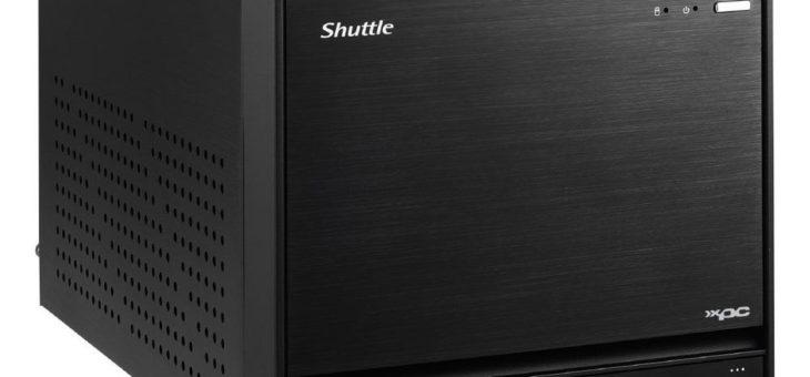 Shuttle liefert Mini-PC im Cube-Format für Intel Prozessoren der 9. Generation