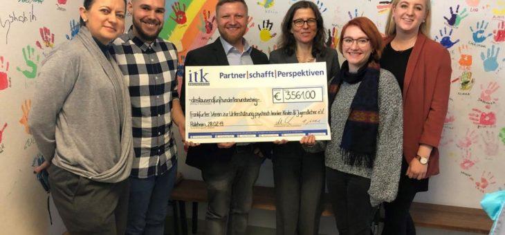 ITK Engineering unterstützt psychisch kranke Kinder und Jugendliche