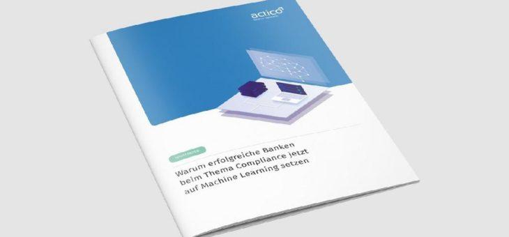 Kostenloses Whitepaper: Warum erfolgreiche Banken beim Thema Compliance auf Machine Learning setzen