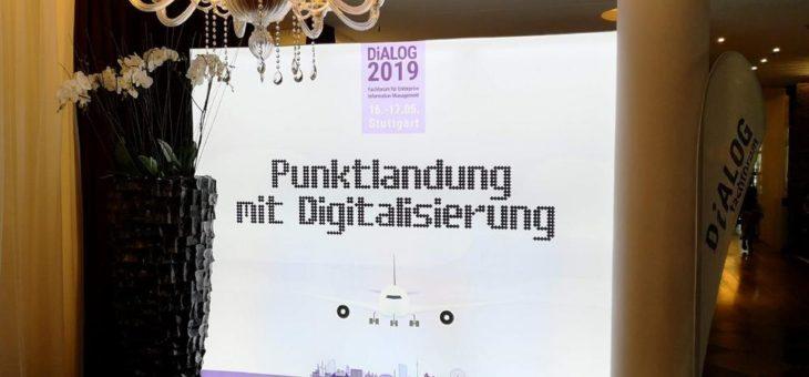DiALOG 2019 – Fachforum für Enterprise Information Management: Punktlandung mit Digitalisierung