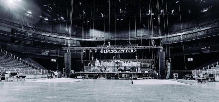 Paul Panzer bei Heimspiel in der Kölner Lanxess-Arena mit VIO L212 System von dBTechnologies
