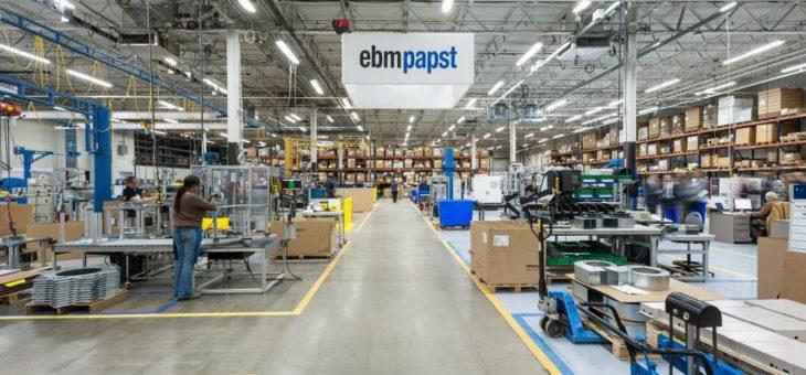 ebm-papst stärkt US-Geschäft mit zweitem Standort
