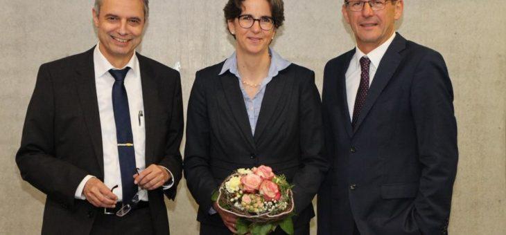 Ulrike Messerschmidt wird Kanzlerin der Hochschule Aalen