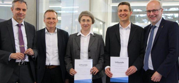 Hochschule  Aalen verleiht Forschungs- und Lehrpreis