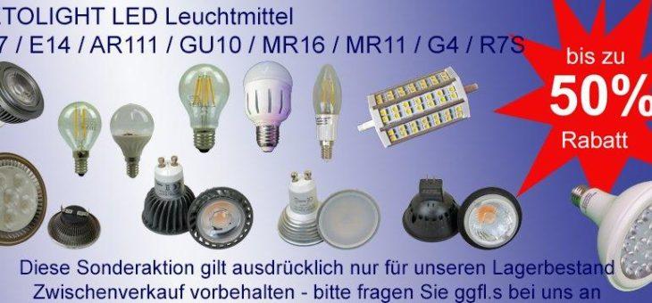 Professionelle LED Beleuchtung zu fairen Preisen!