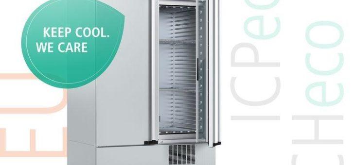 Kompressor-gekühlte Klima- und Brutschränke ICHeco/ICPeco jetzt CO2-gekühlt